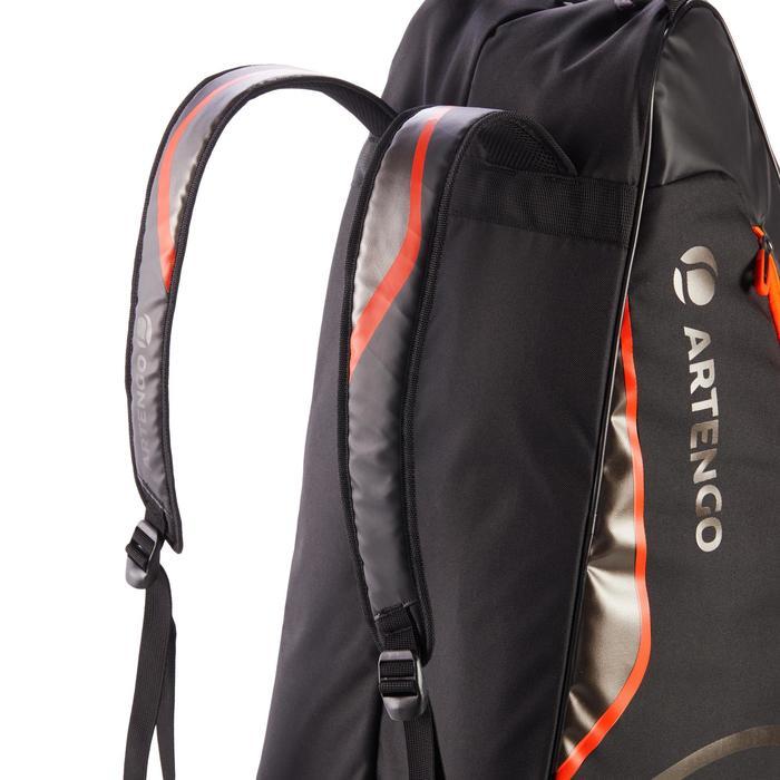 Tas voor racketsporten Artengo 530 L zwart oranje