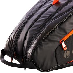 SAC TENNIS ARTENGO 530 L NOIR ORANGE