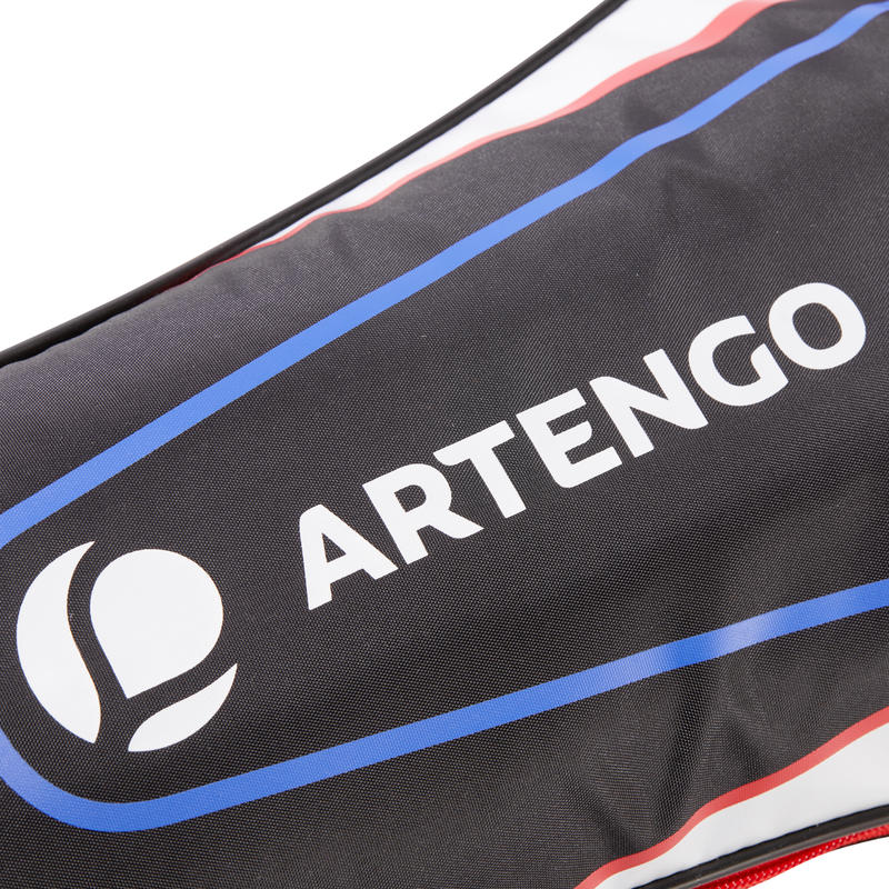 Adult Tennis Racket Sleeve - Black/Red/White