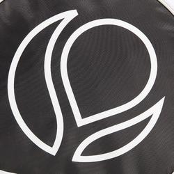 Beschermhoes padelracket zwart wit