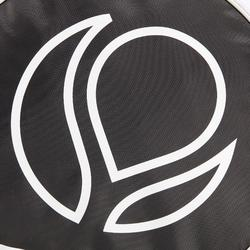 Schutzhülle Padel schwarz/weiß