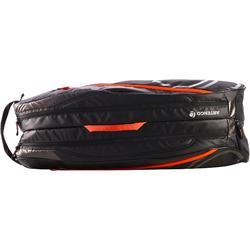 球拍運動袋530 L-黑色/橘色