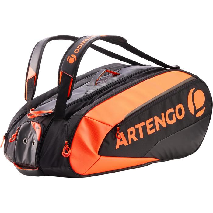 Tennistasche 960 L Schlägertasche schwarz/orange