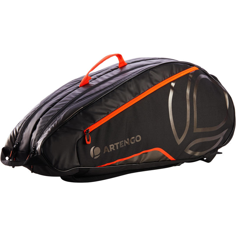 7833eb2b427 530 L Racket Sports Bag - Black Orange