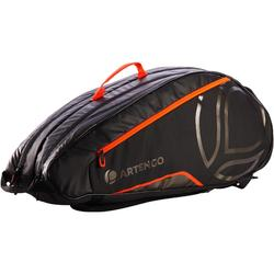 SAC SPORTS DE RAQUETTES ARTENGO LB 930 NOIR ORANGE