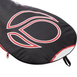 成人款網球拍套-黑紅白配色