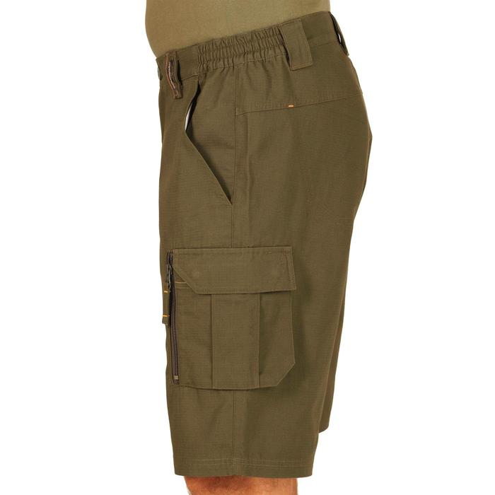 500 Camouflage hunting Bermuda half tone green - 1289312
