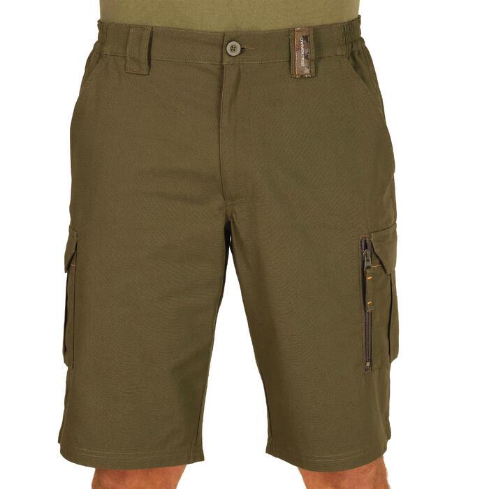500 Camouflage hunting Bermuda half tone green - 1289316