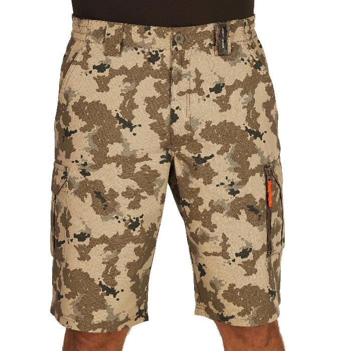 500 Camouflage hunting Bermuda half tone green - 1289348