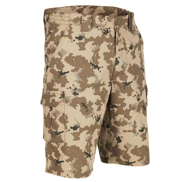 500 Camouflage hunting Bermuda half tone green - 1289350