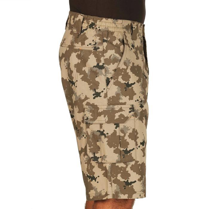 500 Camouflage hunting Bermuda half tone green - 1289351