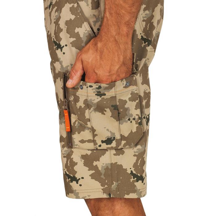 500 Camouflage hunting Bermuda half tone green - 1289352