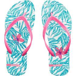 女款夾腳拖鞋TO 120 Bali-白色