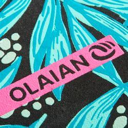 Chanclas De Playa Surf Olaian TO 120 Mujer Negro Verde