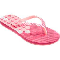 女孩人字拖鞋TO 500 G -可可綠