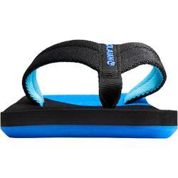 Slippers jongens TO 550 zwart blauw