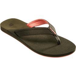 TO 500L 女款沙灘夾腳拖鞋- 黑色