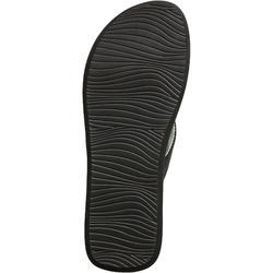 Slippers voor dames 550 zwart/ijsblauw