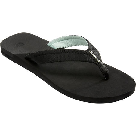 Women's Flip-Flops 550 - Frozen Black
