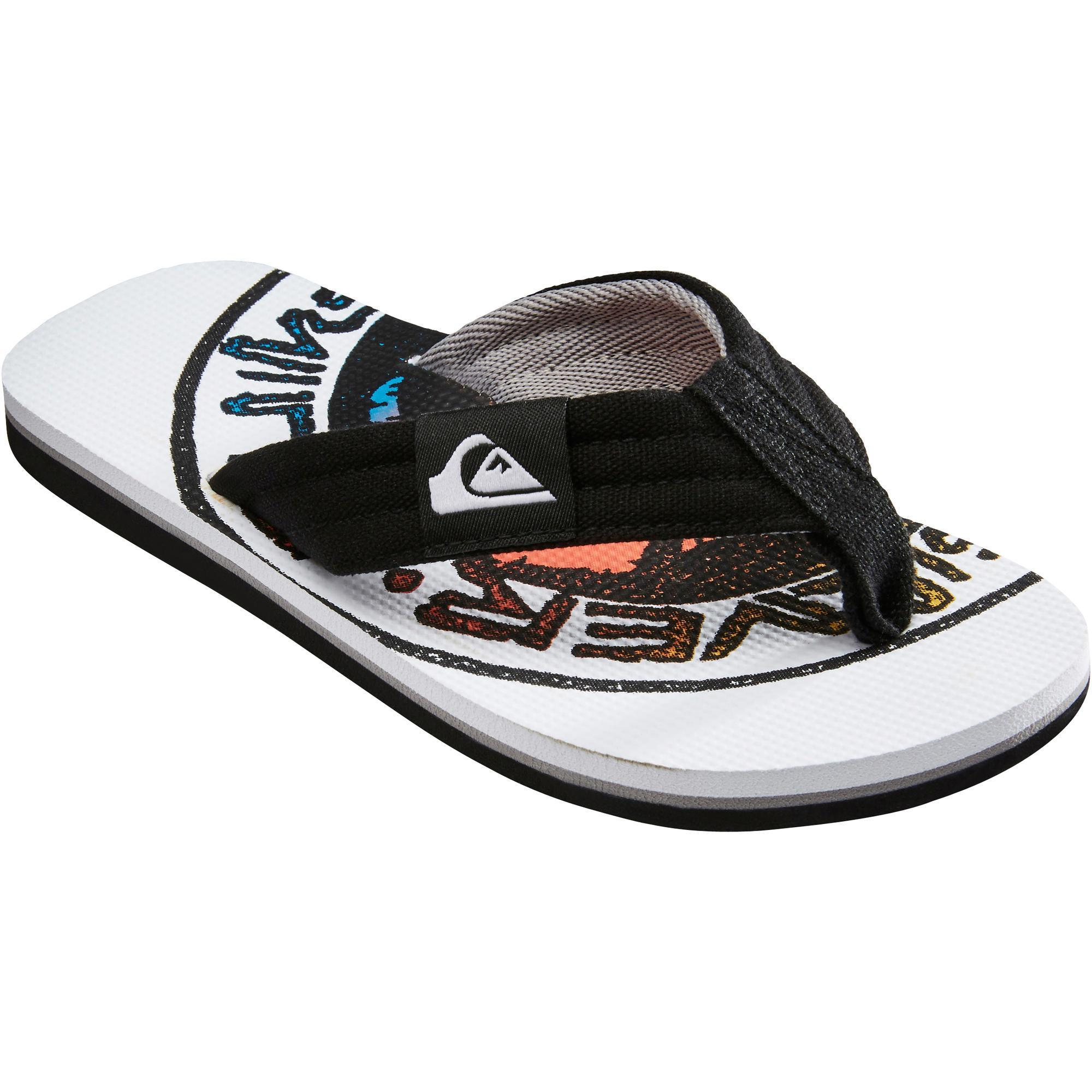 Quiksilver Slippers Layback wit