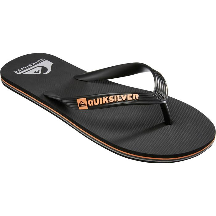 Herenslippers Molokai Wave Quiksilver zwart