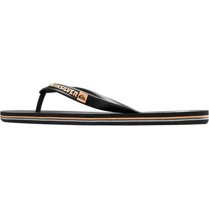 TONGS HOMME QUIKSILVER MOLOKAÏ Wave Noir DEV