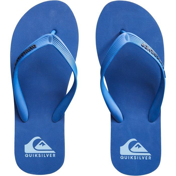 Zehensandalen Molokai Wave blau