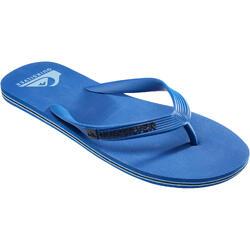 Herenslippers Molokai Wave Quiksilver blauw