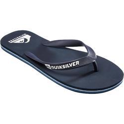 Chanclas De Playa Surf Quiksilver Molokai Wave Hombre azules oscuro