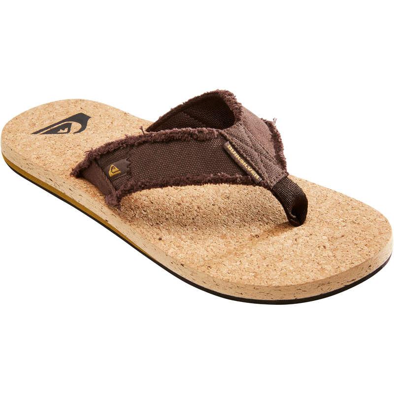 VÅTSKO HERR Herrskor - Flip-flops MONKEY ABYSS QUIKSILVER - Typ av sko