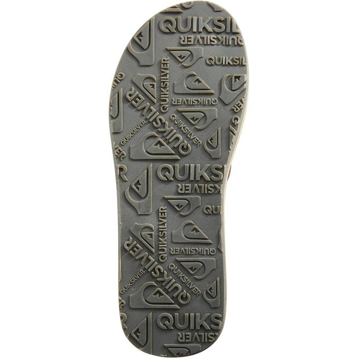 Tongs Quiksilver Carver Marron - 1289662