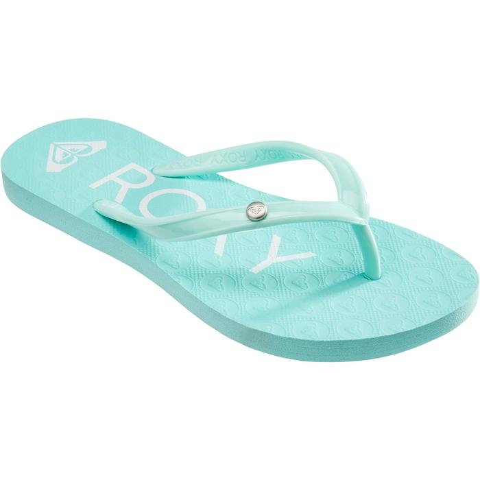 Chanclas De Playa Surf Roxy Sandy Niña azul