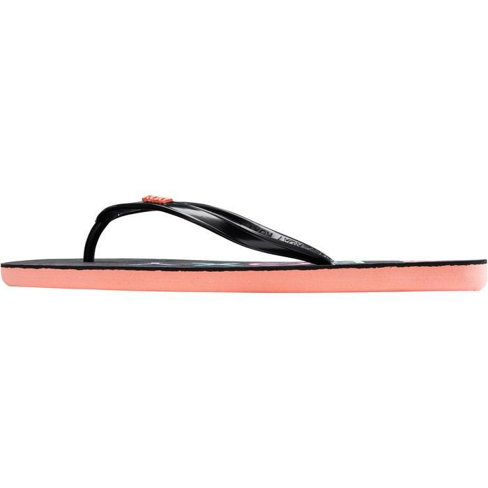 Chanclas Playa Surf Roxy Mujer Dedo Negro Coral