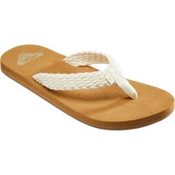 TONGS FEMME ROXY PORTO Blanches