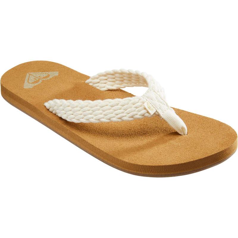 VÅTSKO DAM Typ av sko - Flip-flops PORTO W vit ROXY - Flip-Flops