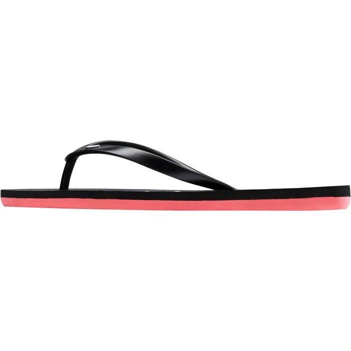 Chanclas Playa Surf Roxy Mujer Dedo Negro Rosa