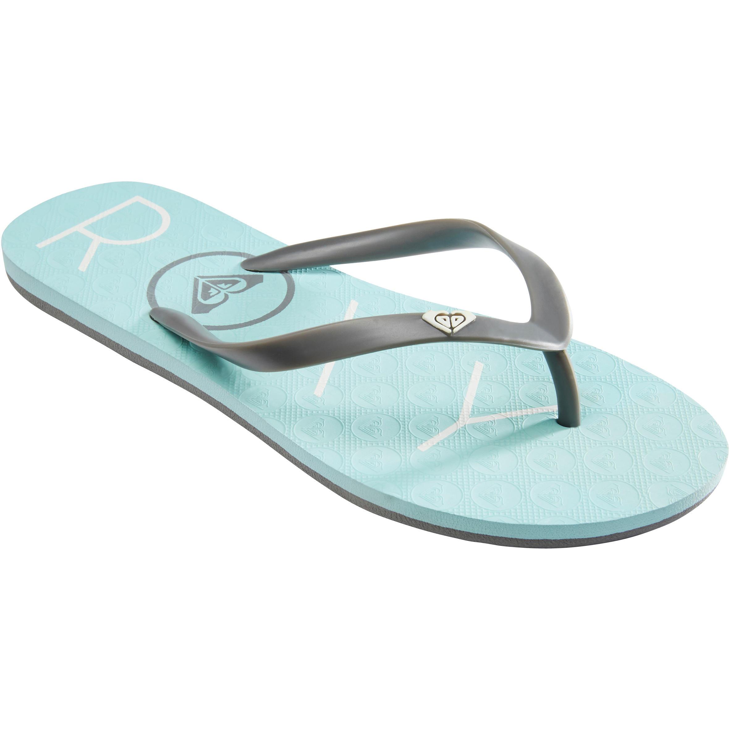 Roxy Slippers Roxy Sea blauw OP DEV 18