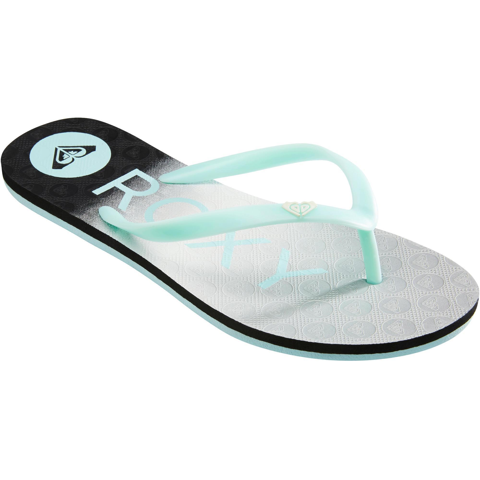 2417834 Roxy Slippers Sea blauw