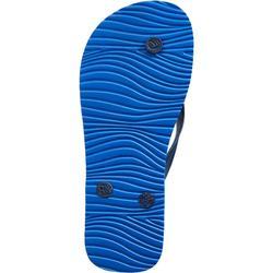 Slippers voor jongens 100 blauw