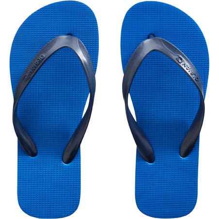 Chanclas de Playa Olaian 100 Niño Azul