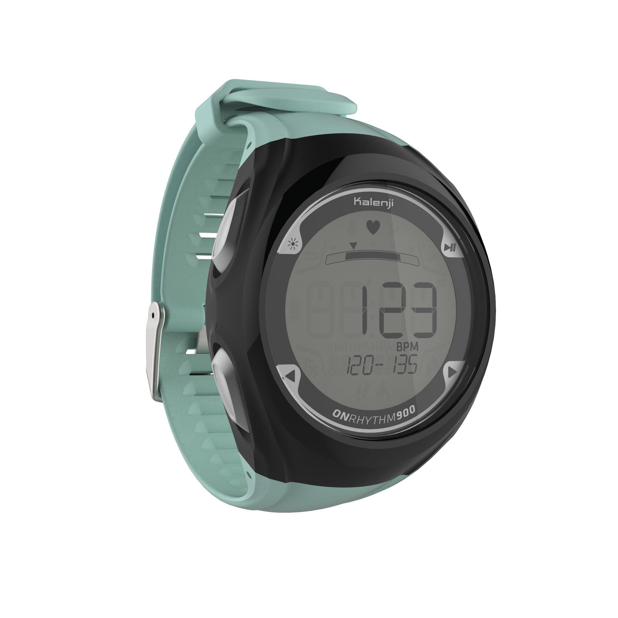 Kalenji Horloge met polshartslagmeter voor hardlopen ONrhythm 900 thumbnail