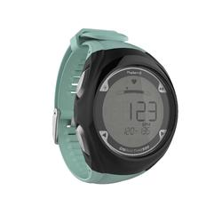 Horloge met polshartslagmeter voor hardlopen ONrhythm 900 groen