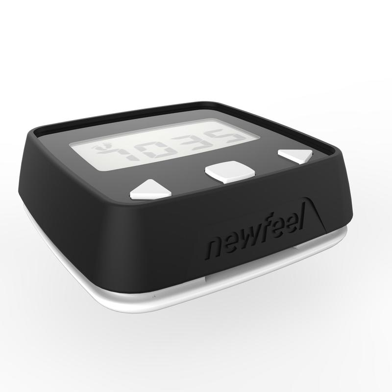 Podómetro acelerómetro ONWALK 100 negro