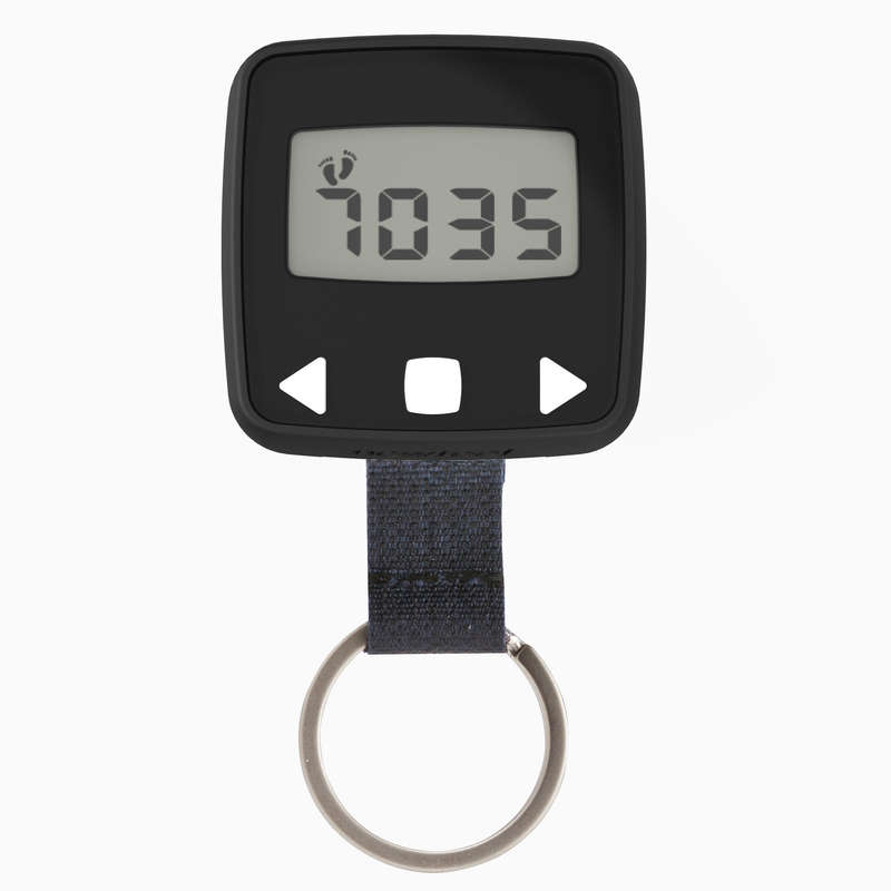 TRACKERS PEDOMETERS OR SCALES Nordic Walking - ONWALK 100 PEDOMETER BLACK NEWFEEL - Nordic Walking
