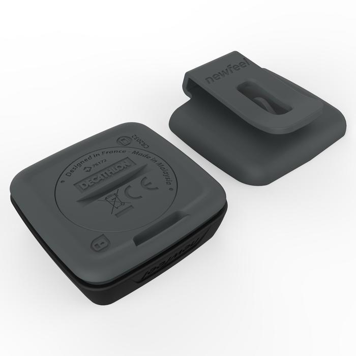 Stappenteller met versnellingsmeter ONwalk 500 zwart