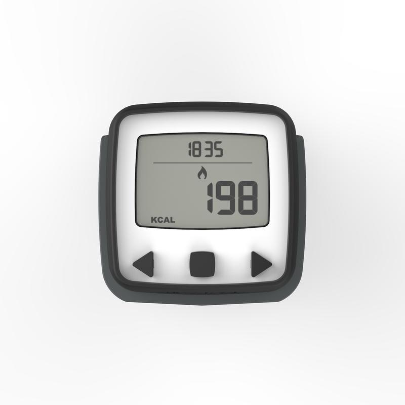 Podómetro acelerómetro ONWALK 500 negro