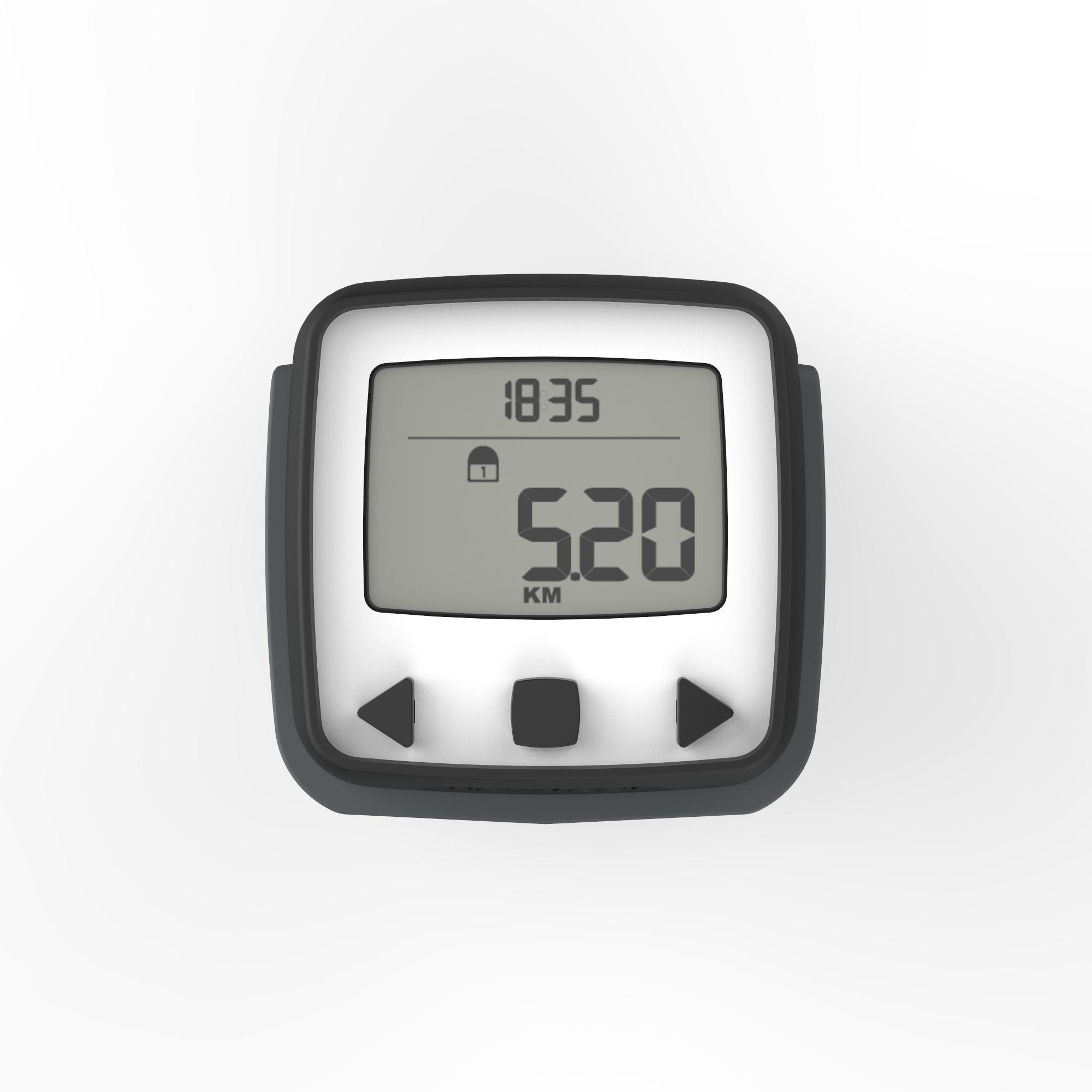 ONwalk 500 Accelerometer Pedometer Black