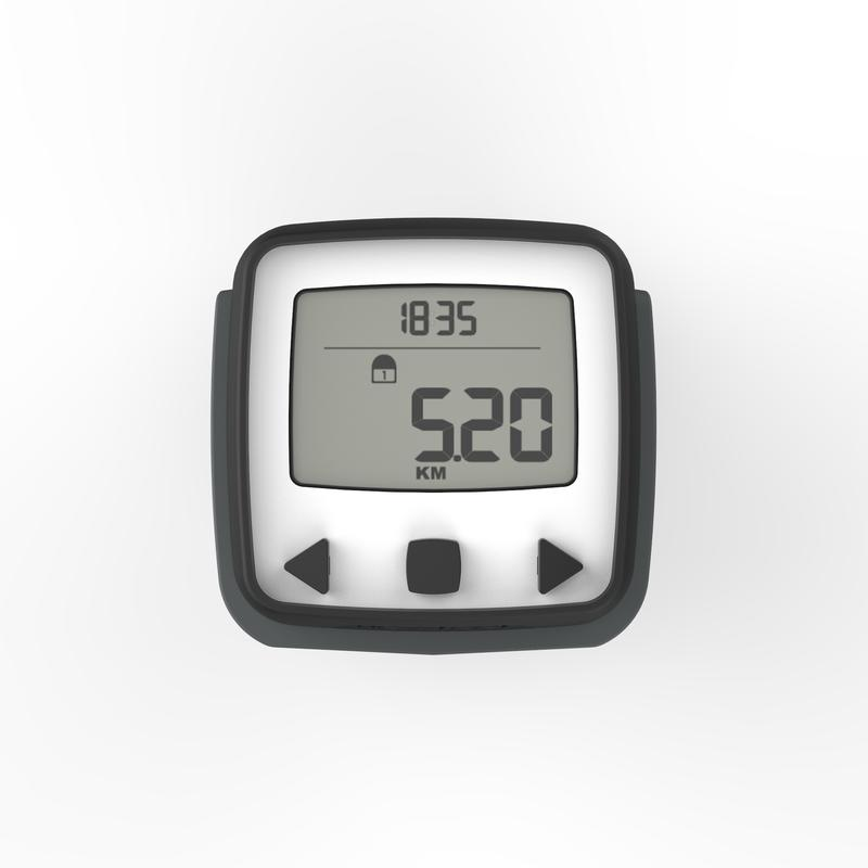 ONwalk 500 Pedometer and accelerometer - Black