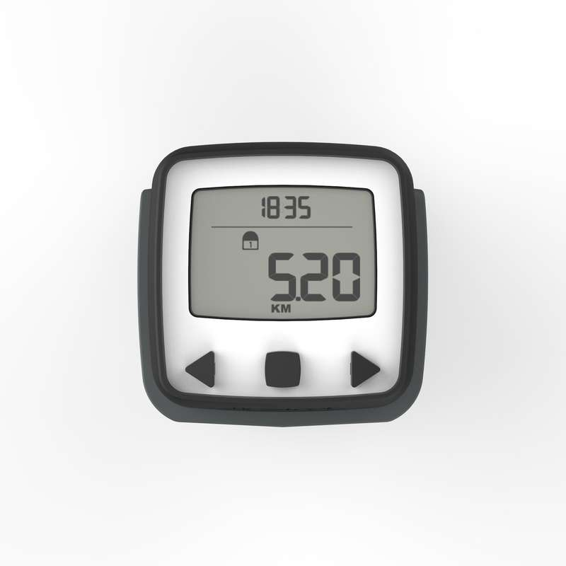 TRACKERS PEDOMETERS OR SCALES Nordic Walking - ONWALK 500 PEDOMETER BLACK NEWFEEL - Nordic Walking