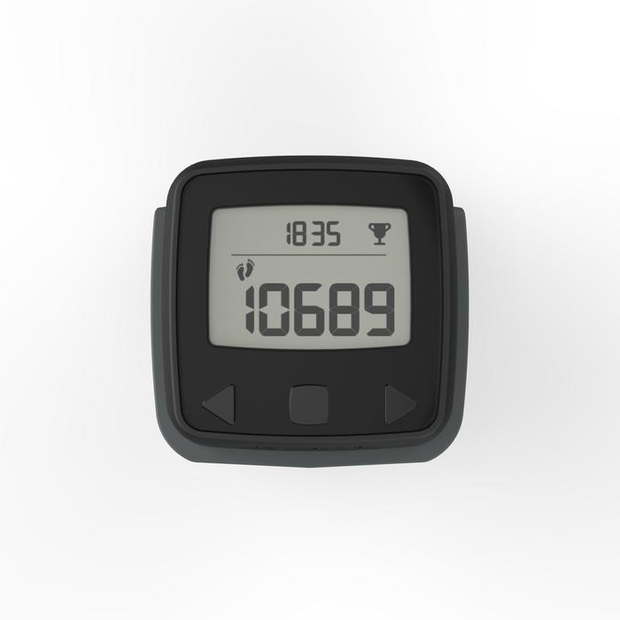 Stappenteller met versnellingsmeter ONwalk 900 zwart